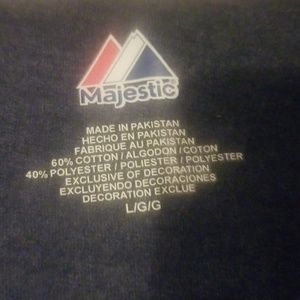 Majestic Tops - New York Yankees tshirt